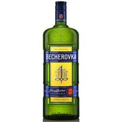Becherovka+pohár likőr 0,7l