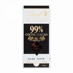 Lindt Excellence 99% kakaótart.csoki 50g