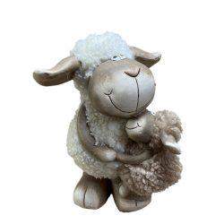 Bárány kis báránnyal kerámia