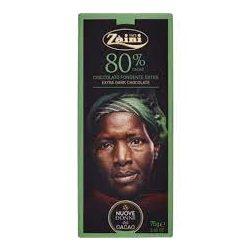 Zaini étcsokoládé 80% 75g