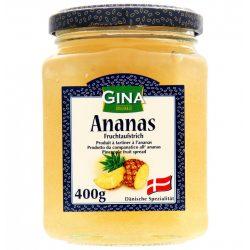 Gina lekvár 400g ananász