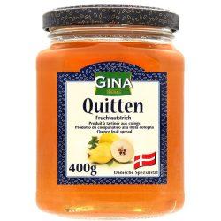 Gina lekvár 400g narancs