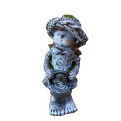 Antikolt kerámia figura 30cm