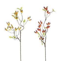 Őszi ág hosszúkás bogyóval műa.80cm